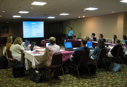 State and federal scientists attend an ASMFC Stock Assessment Training Workshop. Photo ?Ǭ�ASMFC.